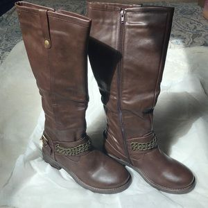 Reneeze Brown Riding Boots Size 8